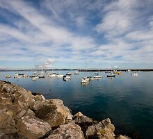 Brixham - outer harbour by GCAPARO