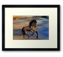 Cosmic .. Wild Stallion Framed Print