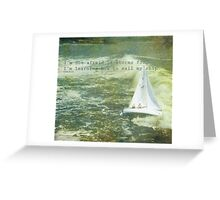 storms.... Greeting Card
