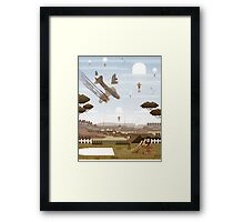How I Met Your Grandfather Framed Print