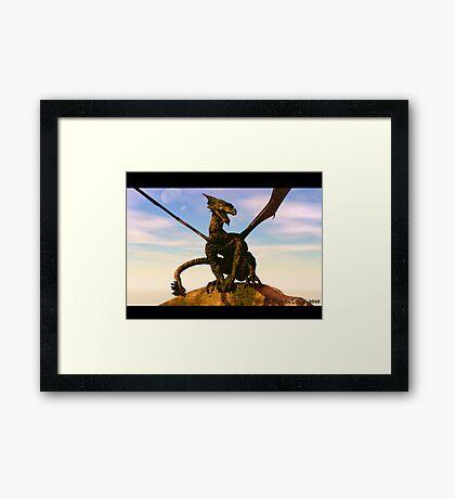 Dragons Reign Framed Print
