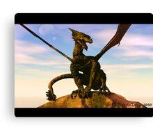 Dragons Reign Canvas Print