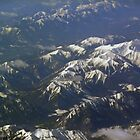 Rockies, taken from the plane between Los Angles and Edmonton by Paris3
