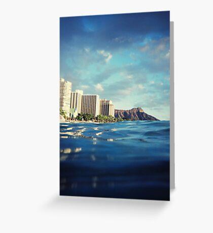 Hawaii by water Greeting Card