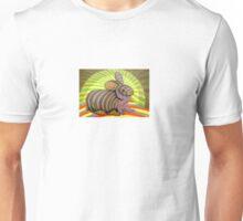 278 - PETER THE RABBIT - DAVE EDWARDS - COLOURED PENCILS & FINELINERS - 2009 Unisex T-Shirt