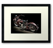Red Indian Four Framed Print