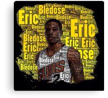 Eric Bledsoe Word Art Canvas Print