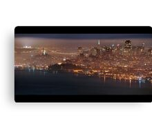 San Francisco Fog Canvas Print