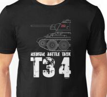 T34 TANK Unisex T-Shirt