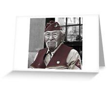Albert Smith - Navajo Code Talkers Greeting Card