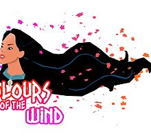Pocahontas Colours Of The Wind by Daniel Bonney