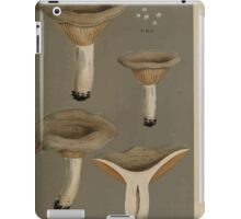 Illustrations of British Fungi by Mordecai Cubitt Cook 1891 V7 0083 LACTARIUS  PIPERITIES  PYROGALUS iPad Case/Skin