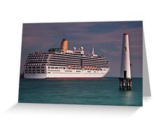 P & O Arcadia • Port Melbourne • Victoria Greeting Card