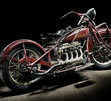 Red Indian Four by Frank Kletschkus