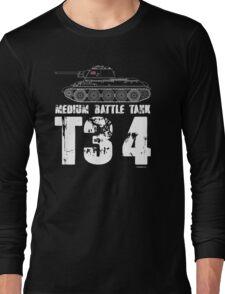 T34 TANK Long Sleeve T-Shirt