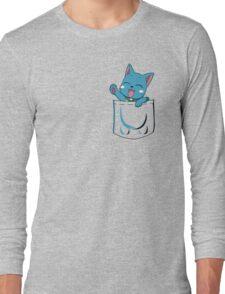 Happy Pocket Long Sleeve T-Shirt