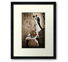 Laura and David Framed Print