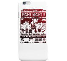 Fight Night 02 iPhone Case/Skin