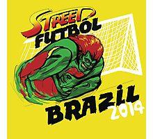 Street Futbol Brazil 2014 Photographic Print