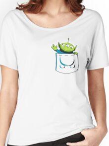 Alien Pocket Women's Relaxed Fit T-Shirt