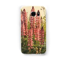 Wild Yarmouth Nova Scotia Lupins Samsung Galaxy Case/Skin