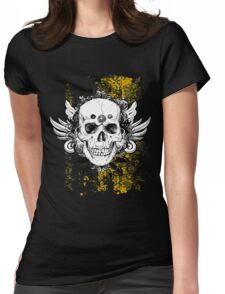 Toxic Bones Womens Fitted T-Shirt