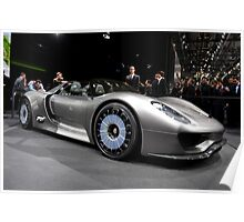World's First Viewing of the Porsche 918 Spyder .... Poster