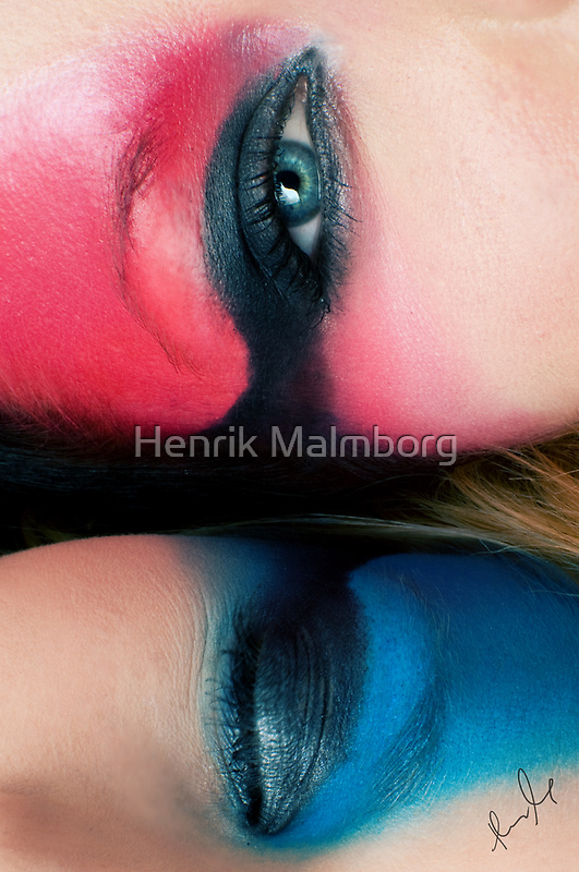 Color me Red & Think Blue! by Henrik Malmborg