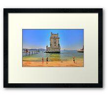 Belém colors Framed Print