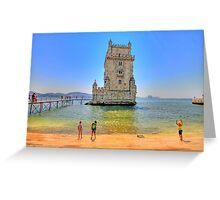 Belém colors Greeting Card