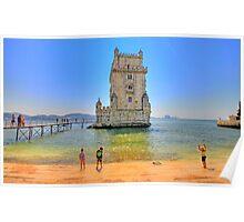 Belém colors Poster