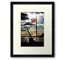 Stonington Fisherman's Memorial Framed Print