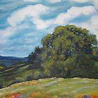 """""""Lone Oak in Hot Springs""""  by T.Fowler-Bailey by tfowlerbailey"""