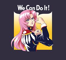 Utena Can Do It! Womens Fitted T-Shirt