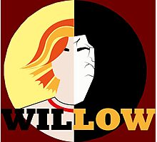 The Many Faces Of Willow Photographic Print