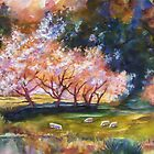 """""""Under the Blossom Trees"""" by T.Fowler Bailey by tfowlerbailey"""