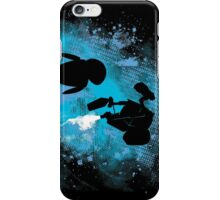 Robots in Space iPhone Case/Skin