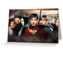 Merlin TV Show Greeting Card