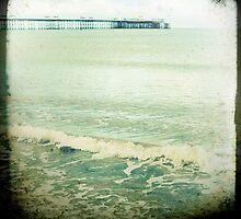 colwyn bay pier by Jackie Cooper
