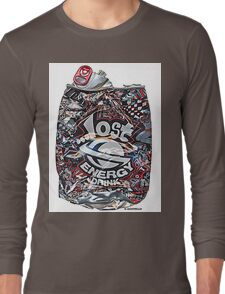 Psychedelic Poster Long Sleeve T-Shirt