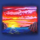 SUNSET ON IWO JIMA by sorcerymoon