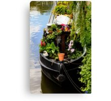 Houseboat horticulture Canvas Print