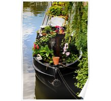 Houseboat horticulture Poster