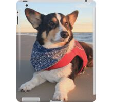 Cute Lifeguard on Duty iPad Case/Skin