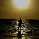 Sunset stroll by oddoutlet