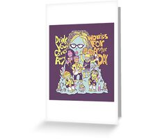 Oggle Rock Greeting Card