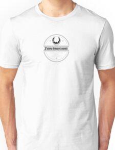 Croissants Unisex T-Shirt