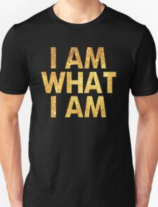 I am what I am lyric - John Barrowman (BLACK) Unisex T-Shirt