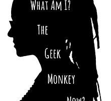 Geek Monkey by kasia793