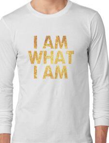 I am what I am lyric - John Barrowman (WHITE) Long Sleeve T-Shirt